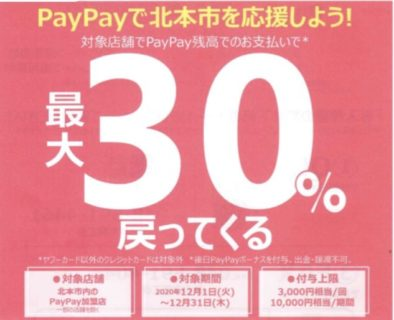 ホームページリニューアル PayPay×BTFCキャンペーン